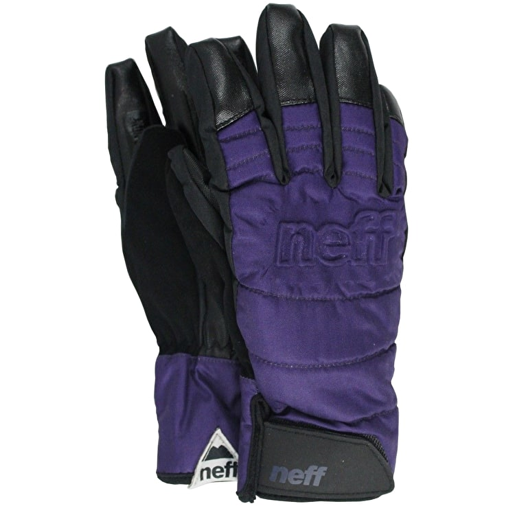 Neff Digger Womens Gloves - Purple/Black