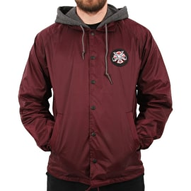 Independent x Thrasher Pentagram Cross Jacket - Maroon