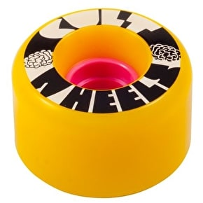 Cult Ist 63mm 80A Longboard Wheels - Yellow