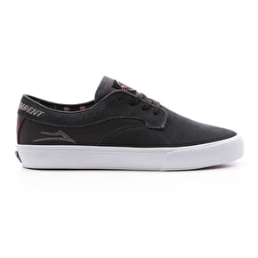 Lakai x Independent Riley Hawk Skate Shoes - Charcoal Suede