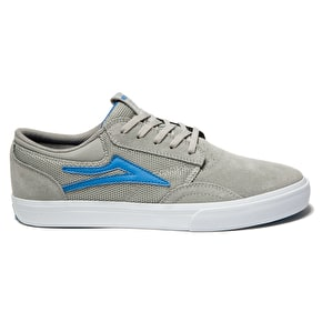 Lakai Griffin Skate Shoes - Grey Suede