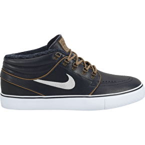 Nike SB Zoom Stefan Janoski MD PR Skate Shoes - Dark Obsidian/Birch