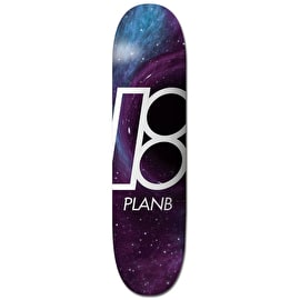 Plan B Team Skateboard Deck - Black Hole 7.75