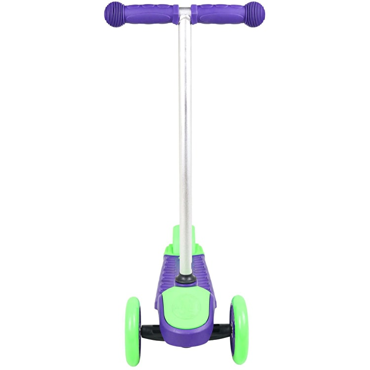 Maui And Sons Mini Sharkman Complete Scooter - Purple/Green
