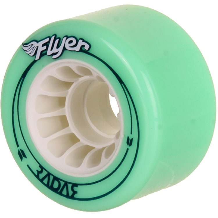 Radar Flyer 66mm Outdoor Quad Wheels- Green 78A