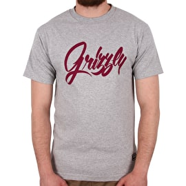 Grizzly Hand Style T-Shirt - Heather Grey