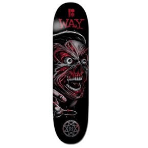 Plan B Skateboard Deck - Damage Terminal Velocity Way 8.125