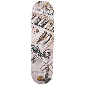 Heroin Enemy Ritual Skateboard Deck - Yankou 8.5