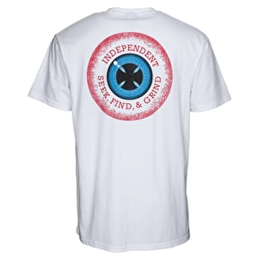 Independent 50/50 Vision T-Shirt - White