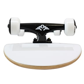 Fracture Fade Complete Skateboard - White 8