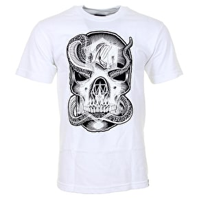 Rebel8 Snake Bite T-Shirt - White