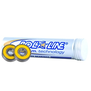 Roll Line 8mm Speed Race Abec 9 Bearings (16 pack)