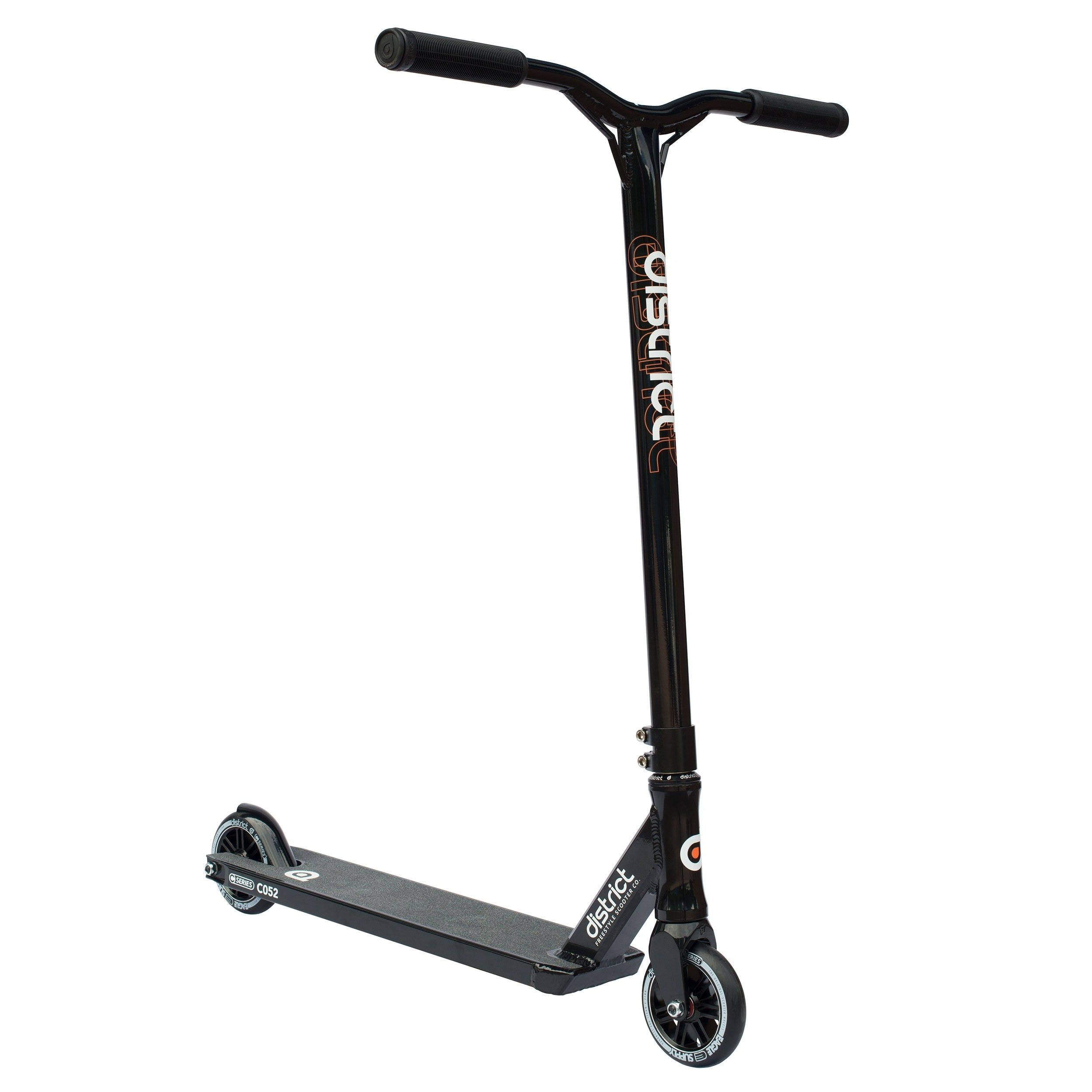 Image of District 2017 C-Series C052 Complete Scooter - Black/Black