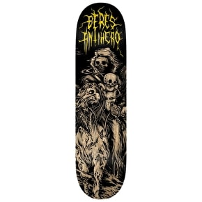 Anti Hero Skateboard Deck - Horseman Beres Black 8.25