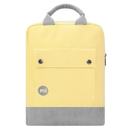 Mi-Pac Canvas Tote Backpack - Pastel Lemon