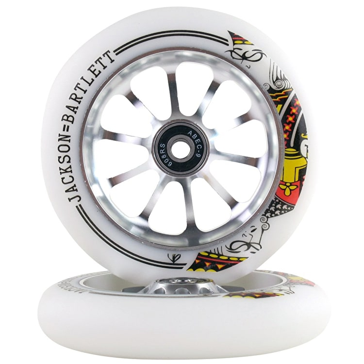 Ride 858 120mm Signature Scooter Wheels - Jackson Bartlett