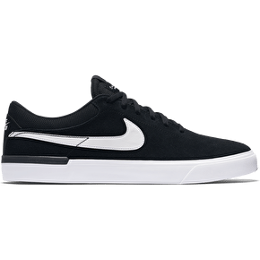Nike SB Koston Hypervulc Skate Shoes - Black/White