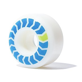Wayward Chevron Quickstrike Skateboard Wheels - Blue 52mm
