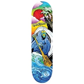 Blood Wizard Skateboard Deck - Gnarhunters 8.25