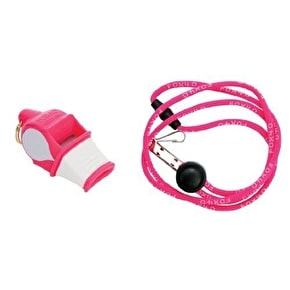 Fox 40 Sonik Blast CMG Whistle w/Lanyard- Pink/White