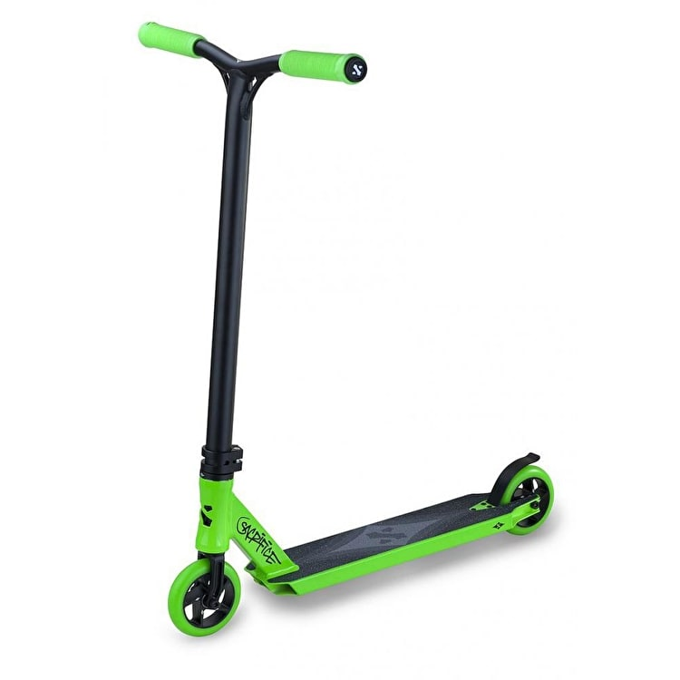 Sacrifice Flyte 100 Complete Scooter - Green / Black