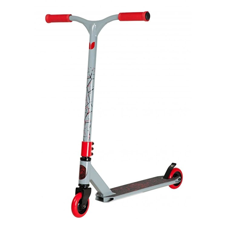 Blazer Pro Decay Series Fracture Complete Scooter - Grey/Red