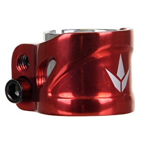 Blunt 2 Bolt  Collar Clamp - Red