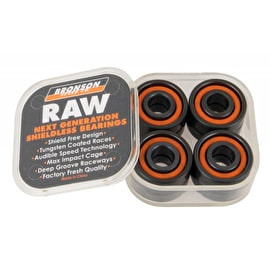 Bronson Speed Co. Raw Skateboard Bearings (Pack of 8)