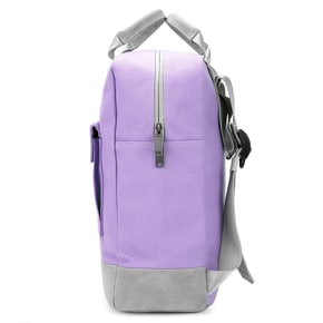 Mi-Pac Canvas Tote Backpack - Lilac