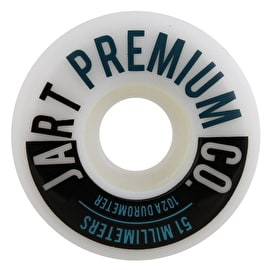 Jart Analogic 102a Skateboard Wheels - Turquoise 51mm
