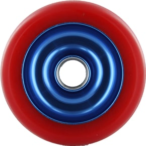 Eagle Blue core Red Pu Metal Core wheel - 100mm