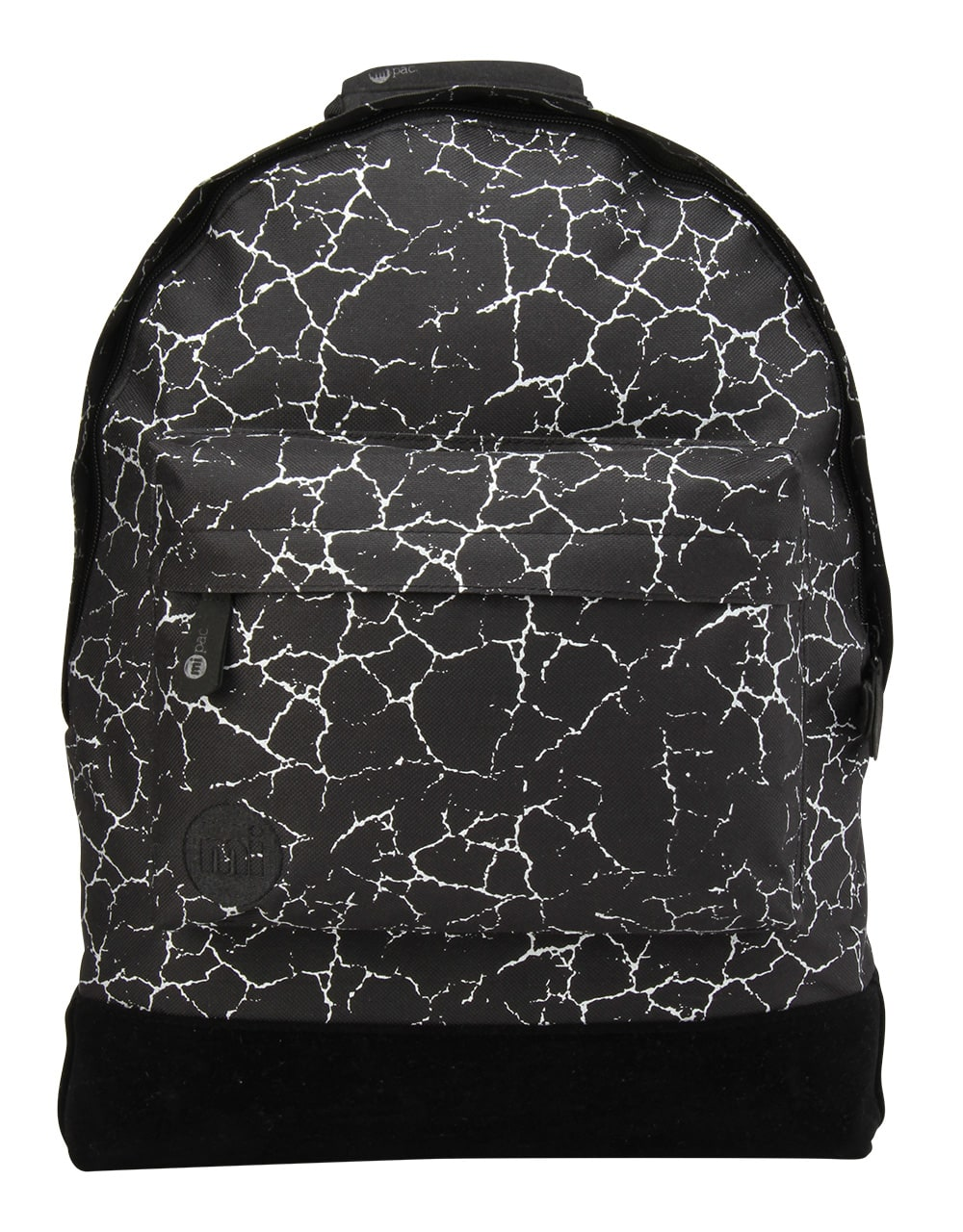 MiPac Cracked Backpack  BlackSilver