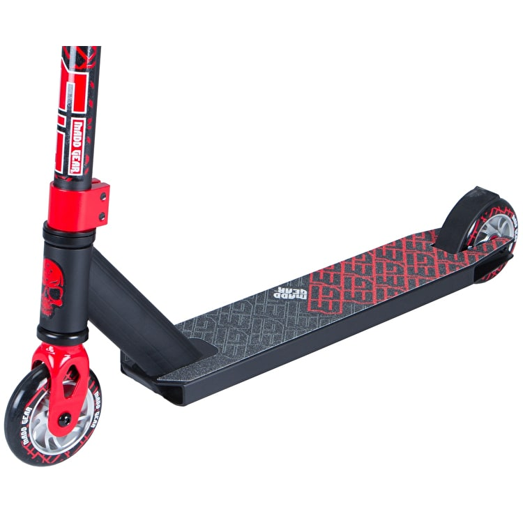 Madd Kick Extreme II Complete Scooter - Black/Red