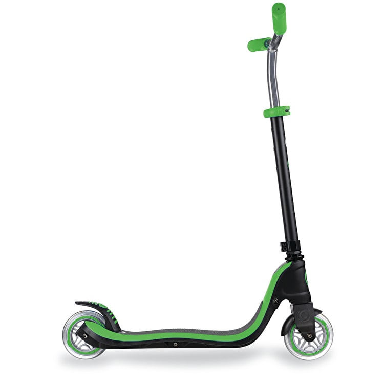 Globber My Too Flow 125 Complete Scooter - Black/Neon Green