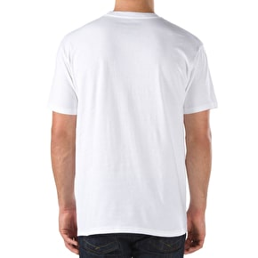 Vans Full Patch T-Shirt - White/Black