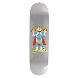 Pizza Skateboards PBR X Pizza Skateboard Deck - Silver - 8.25