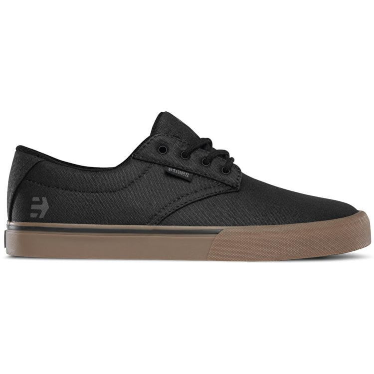 Etnies Jameson Vulc Skate Shoes - Black/Gum/Grey