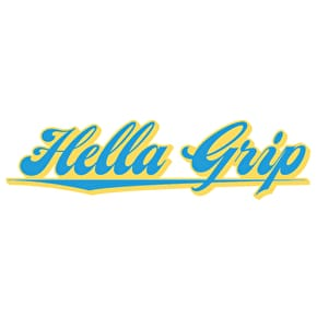 Hella Grip Logo Sticker Scooter
