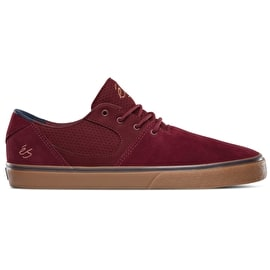 eS Accel SQ Skate Shoes - Burgundy/Gum
