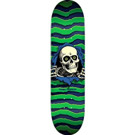 Powell Peralta Ripper Skateboard Deck - Green 8.75