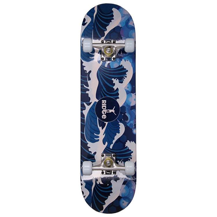 Ridge Wave Complete Skateboard - Night 7.75""