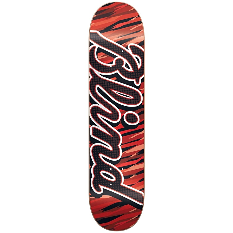 Blind Skateboard Deck - Stripes Red/Black 7.5""