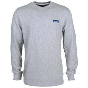 Globe Block Crewneck - Grey