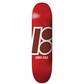 Plan B Stained Skateboard Deck - Cole 8.375