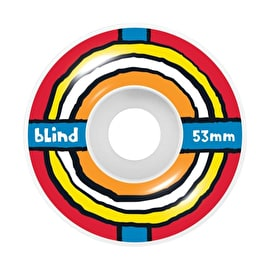 Blind Jankie Skateboard Wheels 53mm - Multi