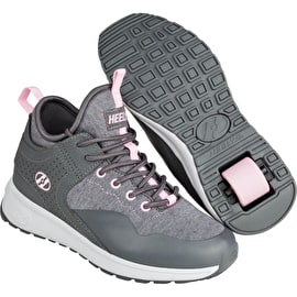 Heelys Piper - Charcoal/Light Pink