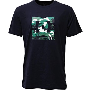 DC Logo Star T-Shirt - Navy/Camo