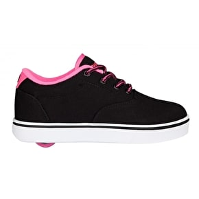 Heelys Launch - Black/Neon Pink/White