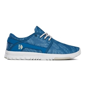 Etnies Scout Women's Shoes - Blue/Green