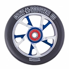 Grit Scooter Wheel - Bio Core 110mm Black/Blue/Silver